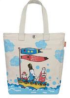 wholesale eco printed cotton canvas tote bag