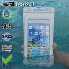 cellphone waterproof pvc bag/mobile pvc waterproof cell case/waterproof pvc pouch for cell phone