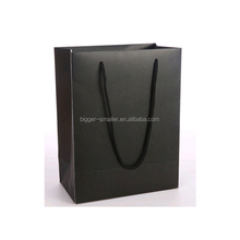 Promote your name with every purchase on our Logo White Kraft Paper Shopping Bags
