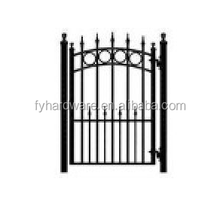 Factory Direct Cheap Garden metal fence gate