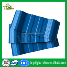 high-low temperature resistance colorfast ge lexan corrugated roofing sheets plastic with high quality