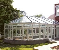 high quality sun room, glass room, glass garden room
