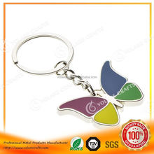 Hotsale high quality good quality custom metal name keychain in china