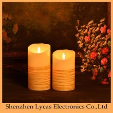 Hot sell The wedding Home Decoration Moving Taper LED Candle