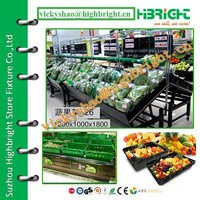 collapsible rack/display stand for fruist and vegetables/vege rack