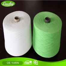 Cnlucky factory provide cotton knitting yarn for knitting yarn importers
