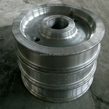 TC ceramic coated wire rope steel pulley wheel