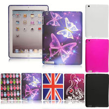 Hot selling Butterfly soft tpu gel cover case for ipad air fast shipping
