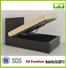 modern 2015 leather fold up beds from china