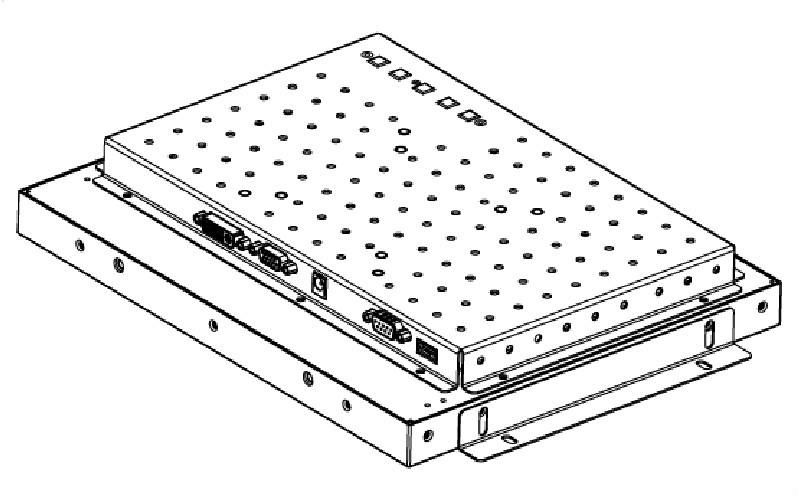 12.1 인치 오픈 프레임 터치 모니터 VGA 및 DVI 나는 ATM, vtm, 대화 형 ...
