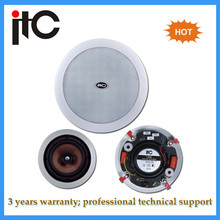 10W Constant resistance pa system indoor flush mount ceiling speakers
