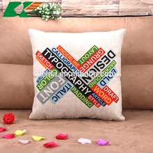 2015 make to order cloth art household soft act the role ofing pillowcase multifunction cotton and linen cushion for leaning on
