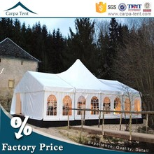 Outdoor Event Tent Waterproof PVC Roof Mixed Tent Exported to Spain