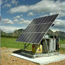Solar high efficiency power panel