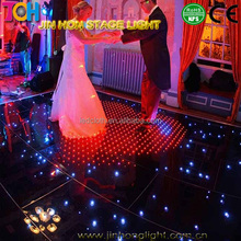 P10 high bear weight full color interactive dance led floor