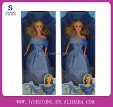 The Latest Children Educational 11.5 Inch Plastic Fashion Cheap Cinderella Doll