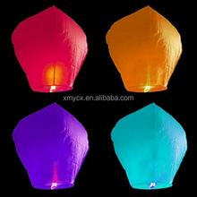 Fashionable factory wholesale flying chinese sky lanterns