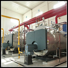 horizontal oil and gas hot water boilers