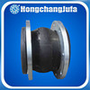 Pipeline standard ANSI/DIN flexible flange type rubber expansion joint