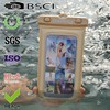 Fashion pvc waterproof cell phone bag for iphone4 with colorful