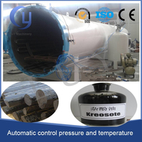 welcome in South Africa and ZAMBIA creosote vaccum heat wood treatment equipment
