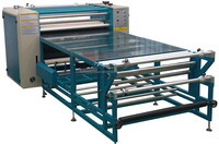QX-G-B roller type sublimation transfer machine t shirt printing machines for sale phone case