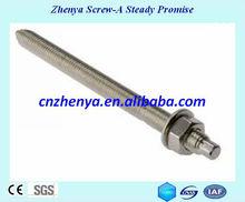 bullone di ancoraggio in acciaio inox ss304 ss316 a2 a4 m14 hilti ancoraggio chimico