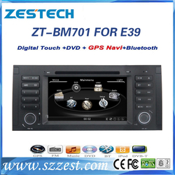 7 inch High quality In dash Car dvd player for BMW E39 Player with Map VMCD Support IPOD GPS AM/FM BT DVD USB/SD AUX SWC RDS A/V