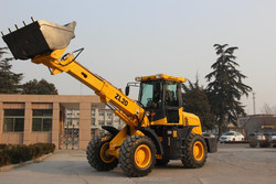 Mini telescopic forklift loader with ISO certificate and max lifting capacity 2 Ton