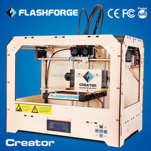 FLASHFORGE high quality and resolution dual nozzle 3d printer supplies