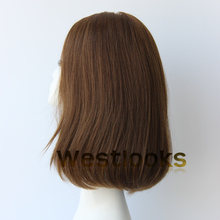 Unprocessed Mongolian Hair Orthodox Close Lace Front Sheitel Kosher Wig