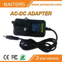 British Standard Plug Indoor High Quality Factory Price DC12V 1A AC Adapter
