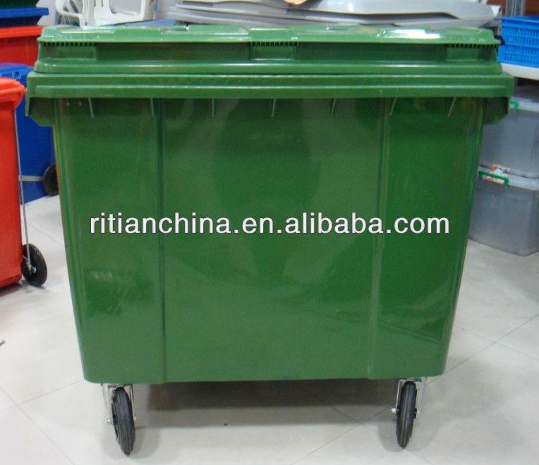 1100l Waste Bin trash Bin With Wheel Buy Plastic