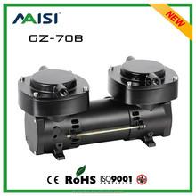 12V DC 136L/Min Small Brushless Air Pump Silent Mini Medical Vacuum Pump Oilless Diaphragm Vacuum Pump