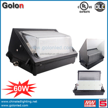 LED wall pack light 60W DLC UL LED wall pack 120W 90W 40W 5 years warranty outdoor led wall pack light 60W