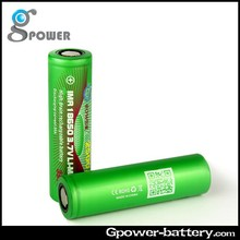 Rechargeable batteries aa 3.7V rechargeable lithium ion battery 18650 2500mAh high power battery