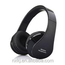 JH 02 2015 New Headband Bluetooth Headset Foldable With 3.5mm anime headphone