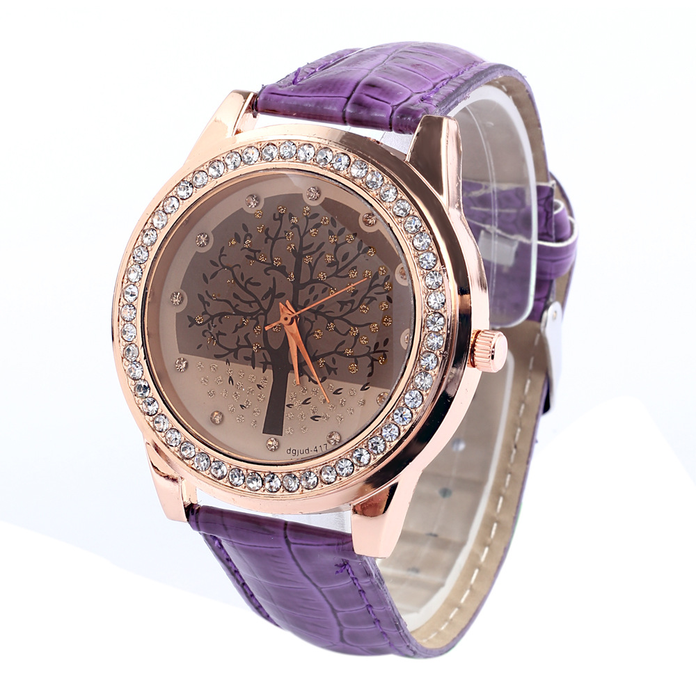 New christmas tree watches colors high fashion