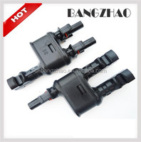 High Quality Photovoltaic accessories 2 input 1 output MC4 branch PV connector