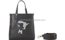 China wholesale cheap price with high quality leather custom logo fashion ladies handbags