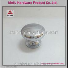 Hot sale zinc alloy chrome plated furniture cabinet drawer kitchen cabinet door knob