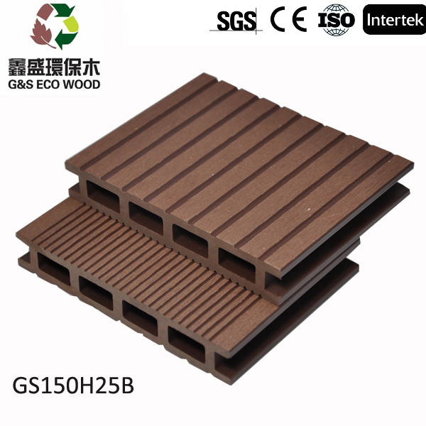 New design cheap composite decking tiles with ce for Cheap composite decking