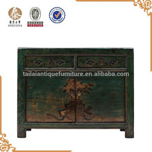 chino muebles antiguos muebles antiguos de la pintura a mano de madera sólida del gabinete