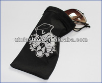 Watch Pouch and Linen Microfiber Fabric Glasses Pouches and Bags YT2006