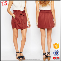 Factory wholesale oem product woman clothing latest skirt design pictures