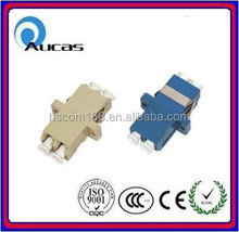 Simplex Duplex Ceramic sleeve fiber optic network connect adapter