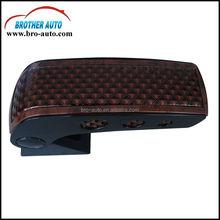 Good quality universal plastic ABS car seat armrest with metal leg armrest for car