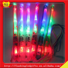 China supply colorful cheering party favor led concert hands flashlight stick plastic glow stick