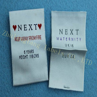OEM reflective woven label sequential number woven label