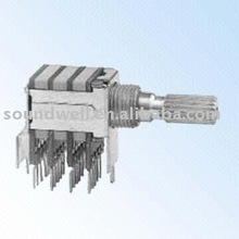 rotary route switch RS2204A0X-VAZ-5/6